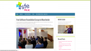 fsfe manchester website - for occasional use