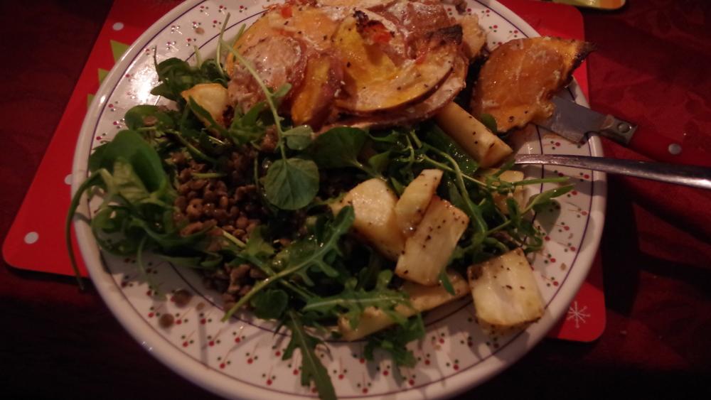 puy_lentil_salad_with_sweet-potato_gratain