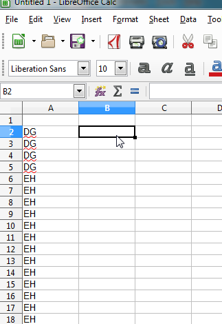 Removing duplicates from a list using Libreoffice – Anna F J