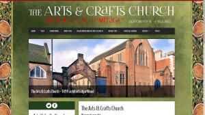 Arts and Crafts Church website - ongoing project