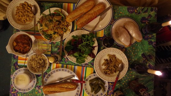 lots of leftovers make a feast!